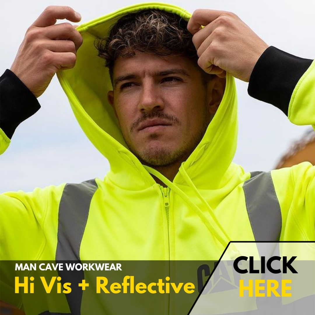 Man Cave Workwear | HI VIS + REFLECTIVE
