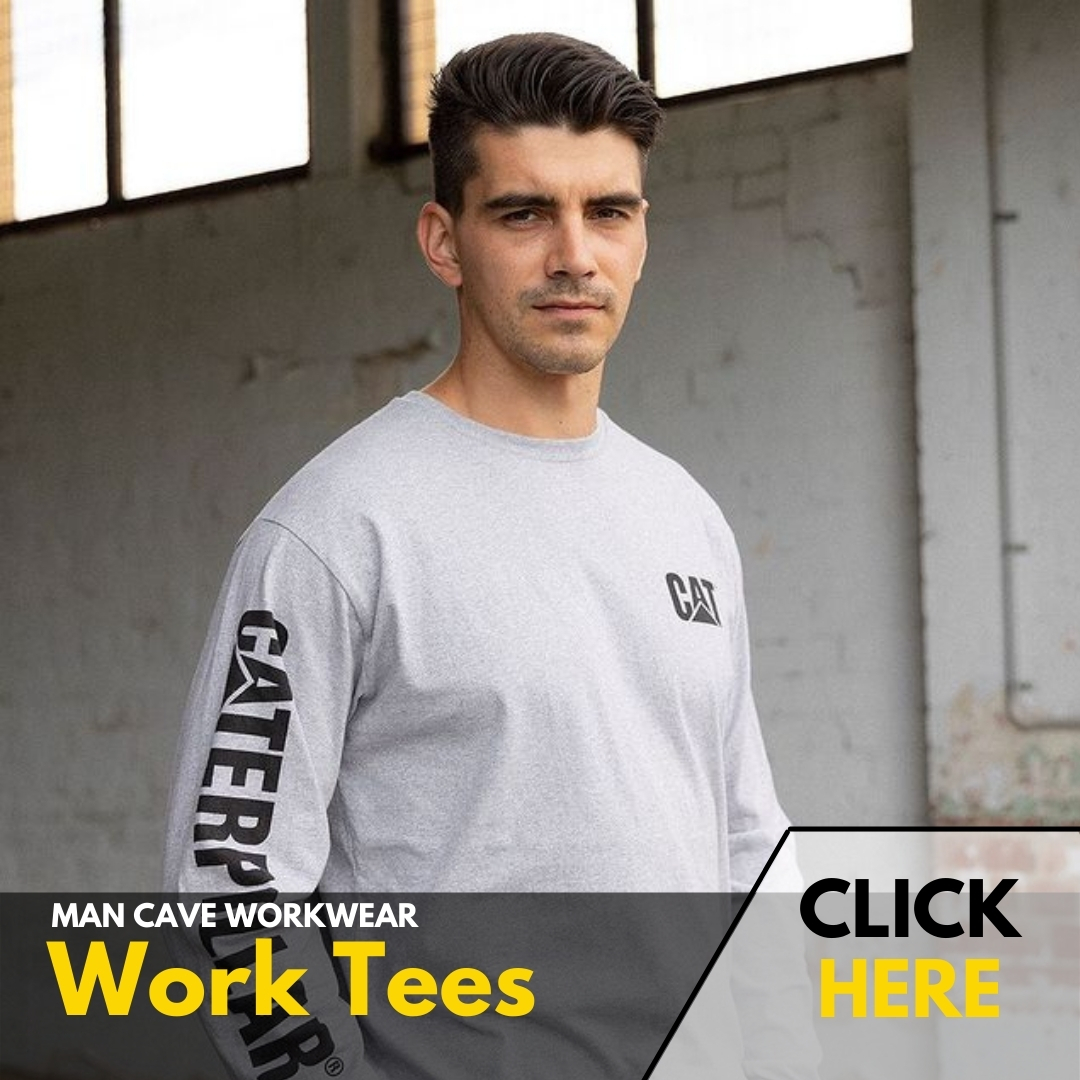 Man Cave Workwear | WORK TEES