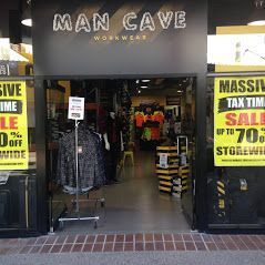 Man Cave Workwear Harbour Town store front