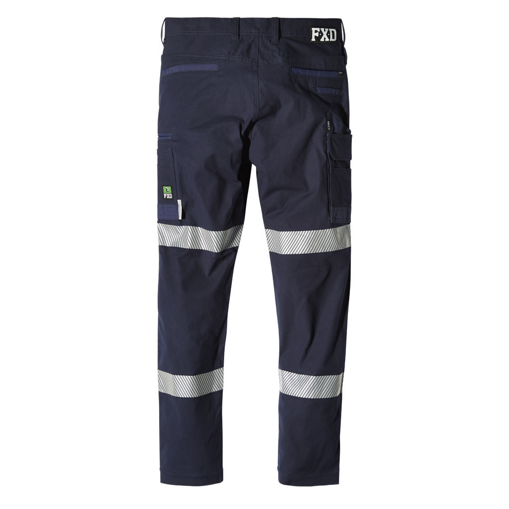 FXD WP-3T Taped Stretch Work Pants Back