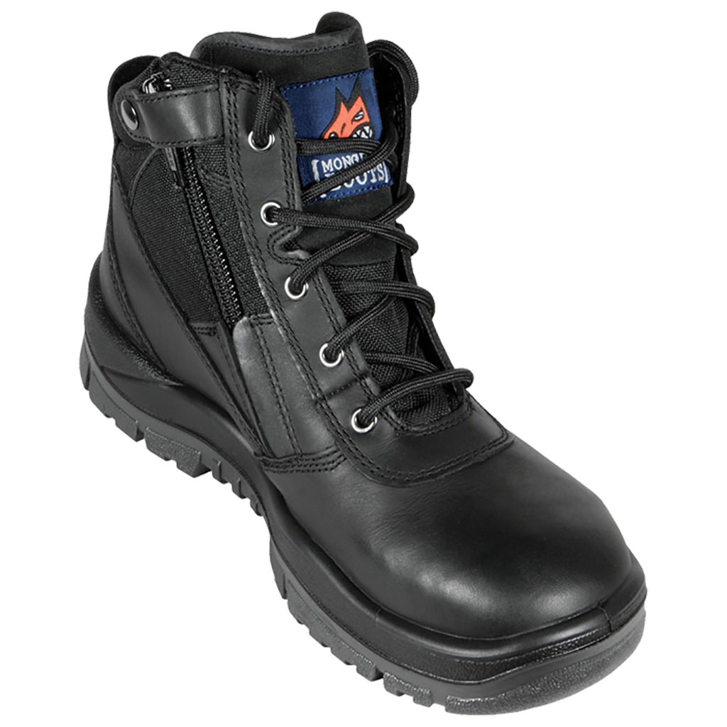 Mongrel ZipSider Boot Non Safety