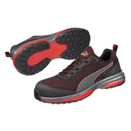 Puma Motion Cloud Speed FT Safety Shoes - Red/Black