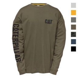 CAT Trademark Banner LS Tees