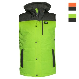 CAT Hi Vis Hooded Work Vests