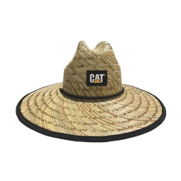 [1120142] CAT Straw Hat